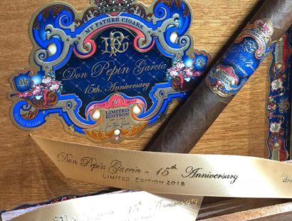 New at Cutters: the Don Pepin Garcia 15th Anniversary Limited Edition 2018 by My Father Cigars